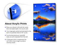 Acrylic Print Template - Portraits by NC