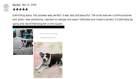 pet portrait review