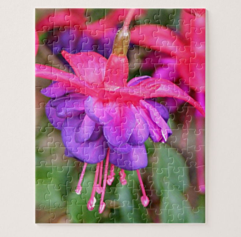 Pink and Purple Fuchsia Puzzle