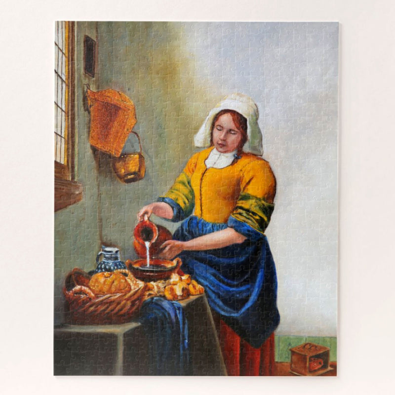 Milk Maid After Vermeer Puzzle for Adults