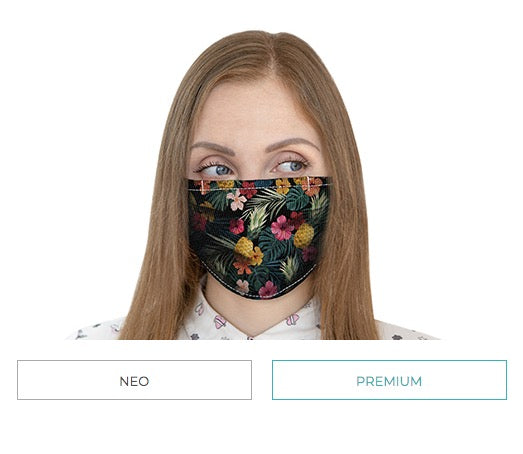 Face Mask - Fully Customizable and Reusable  Face Mask - Choose one of our designs or your own image