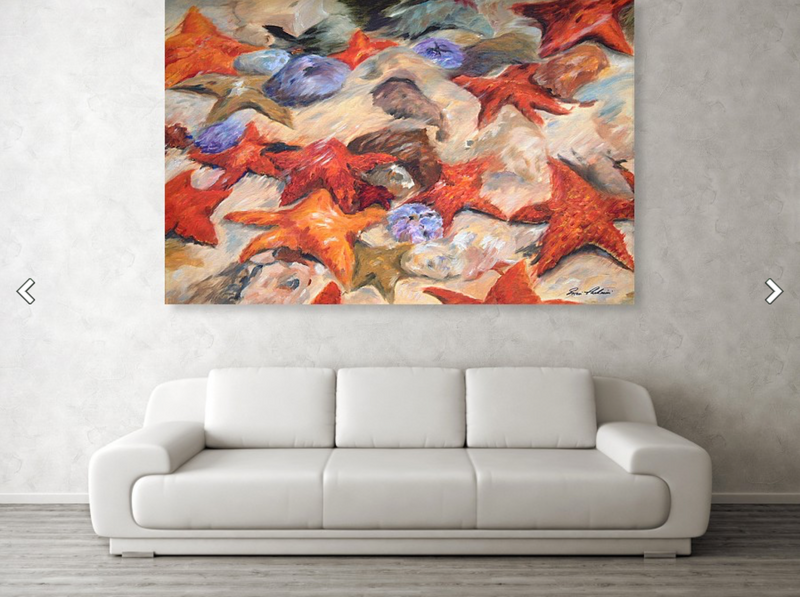 Starfish - Extra Large Canvas Print