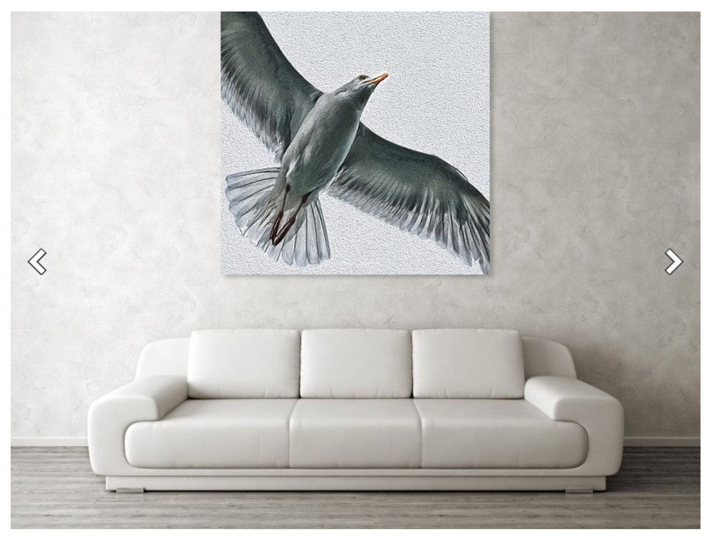 Soaring High - Metal Print 282