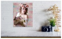 Flower Girl Teen Portrait 221 - Portraits by NC