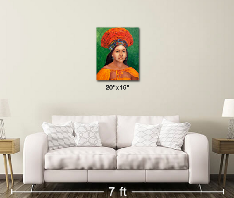 The Zulu Bride - Metal Print 174