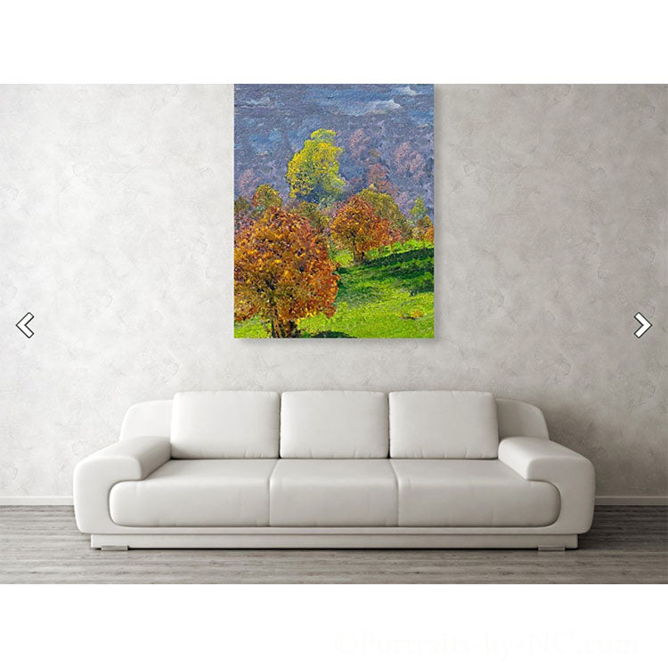 Valley of the Trees - Acrylic Print wall art