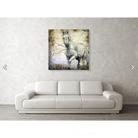 Whispers Across the Steppe Acrylic Print wall print