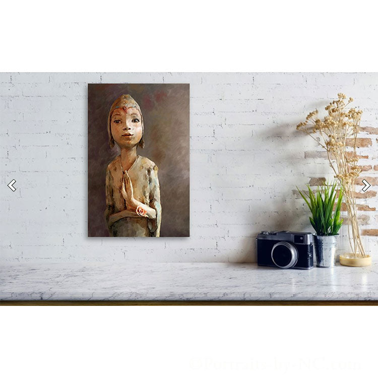 Zen be With You Acrylic Print small