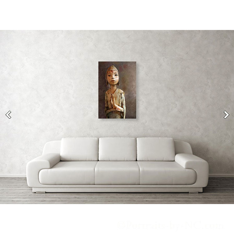 Zen be With You Acrylic Print large wall art