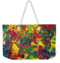 Abstract Painting - Color Explosion - Weekender Tote Bag - Portraits by NC