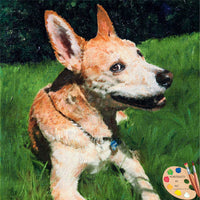 American Dingo Dog Portrait