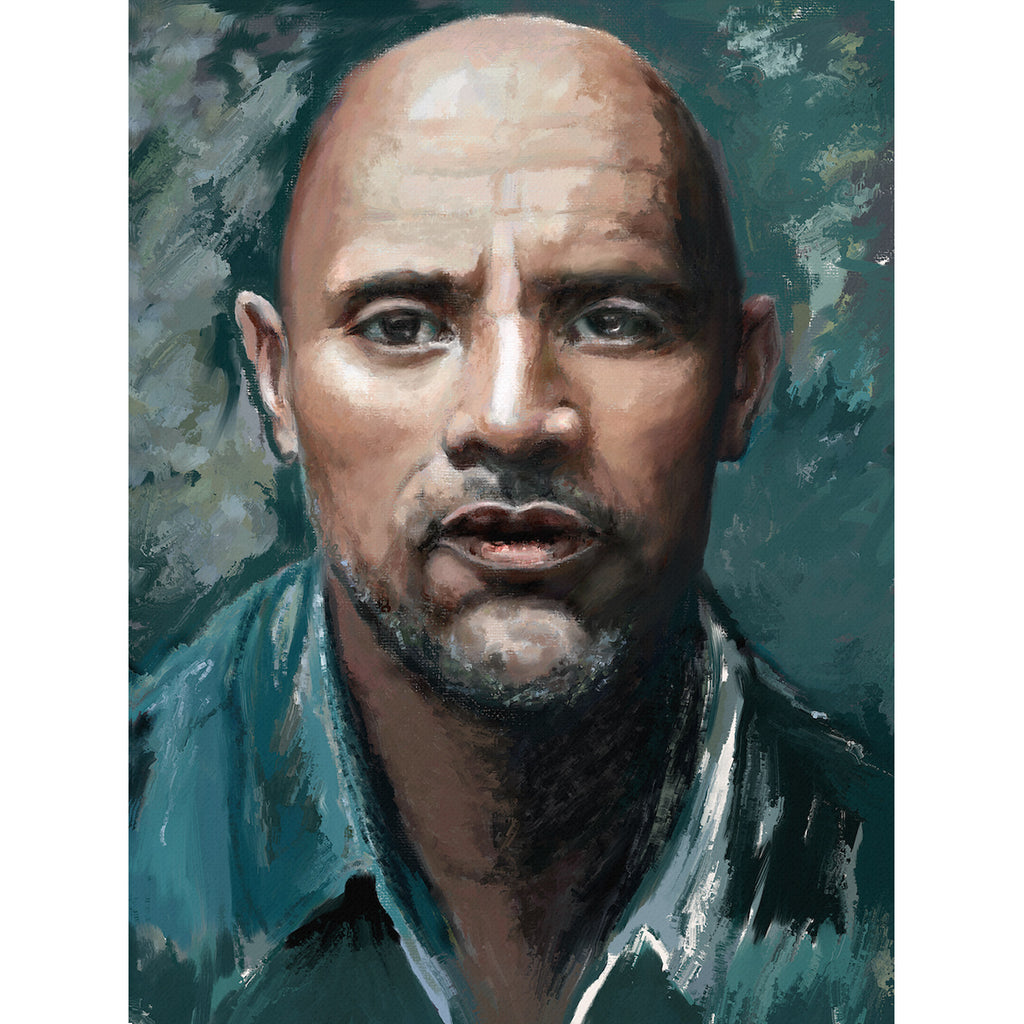 Man Portrait in oil