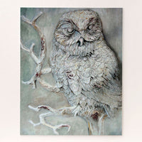 barn owl wildlife puzzle
