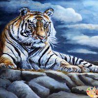 Wildlife Art Bengal Tiger 156