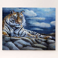 Bengal Tiger Wildlife Jigsaw Puzzle