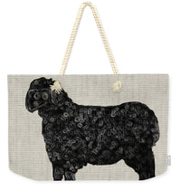 Black Sheep - Weekender Tote Bag - Portraits by NC