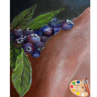 Still Life Painting of Blueberries 126