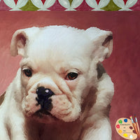 Bulldog Puppy Portraits 329 - Portraits by NC