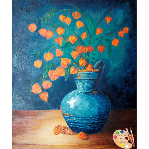 Painting of Chinese Lanterns 168