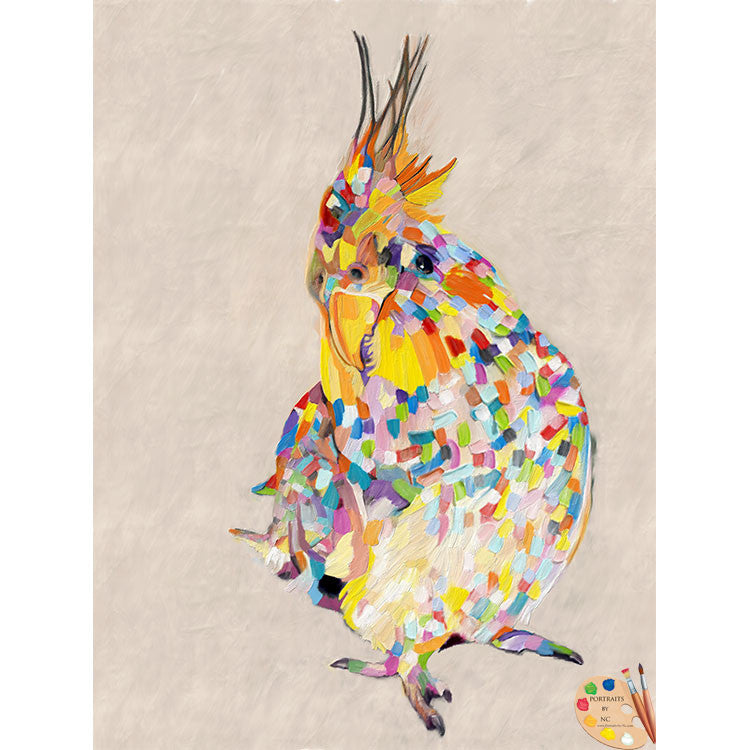 Cockatoo Bird Painting