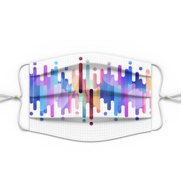 Colorful Lines Premium Mask