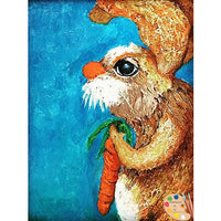 Nursery Art Rabbit Painting 313