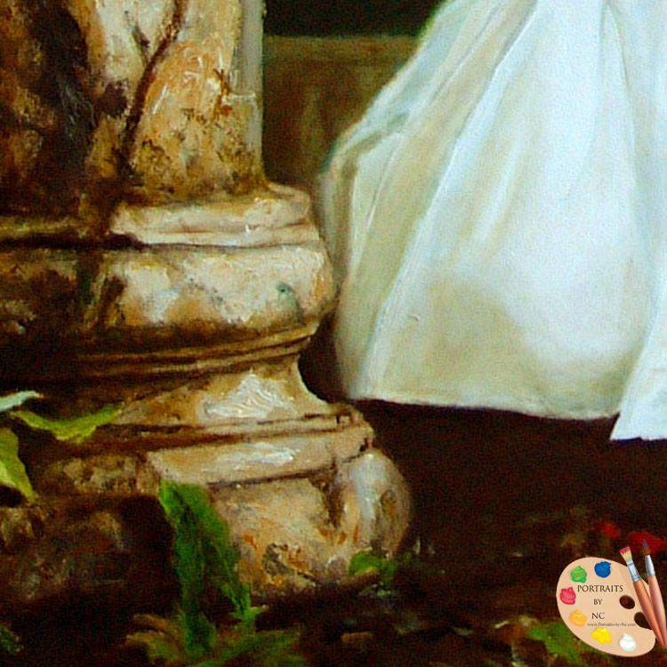 Girl in Rose Garden Detail 56