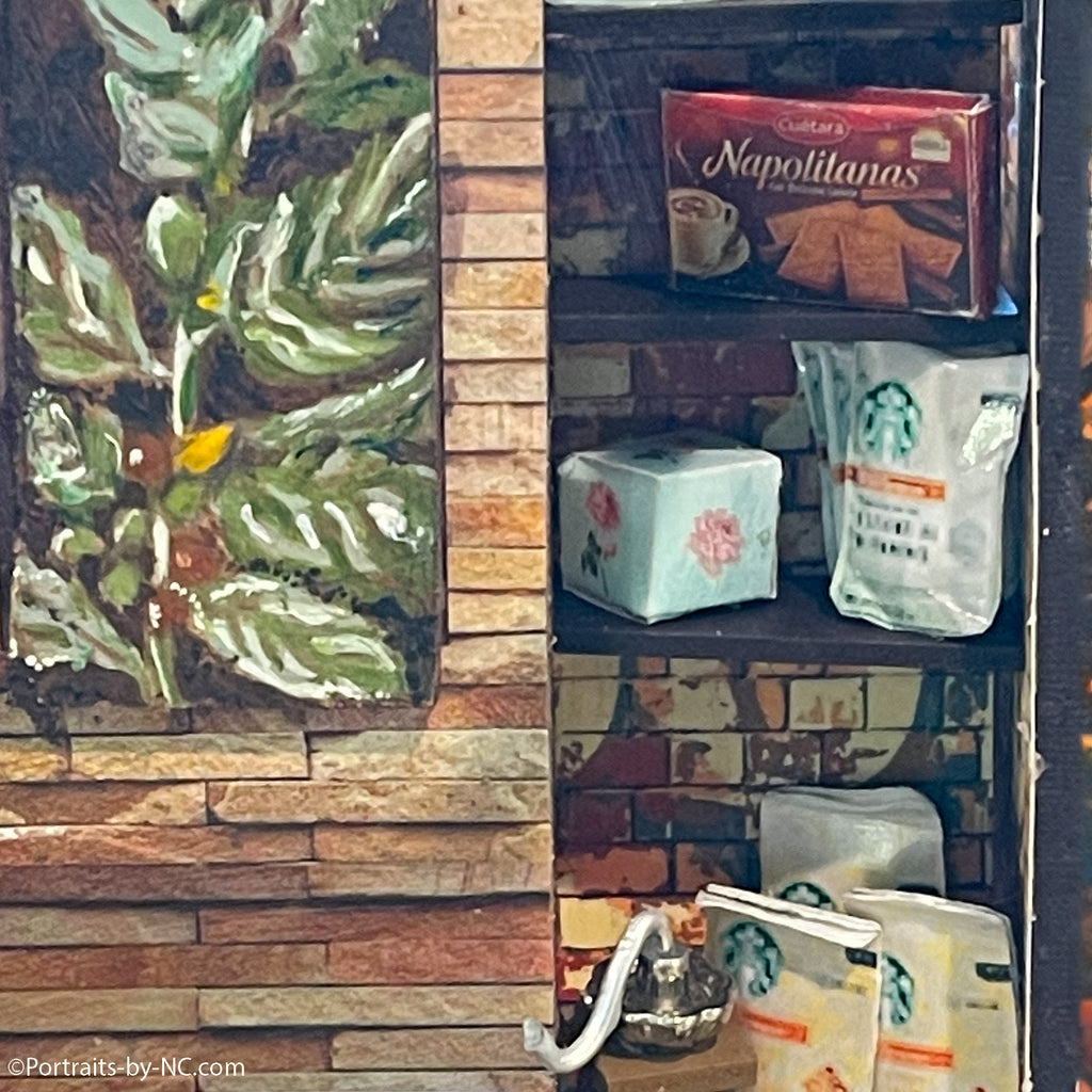 Plant Oil Painting