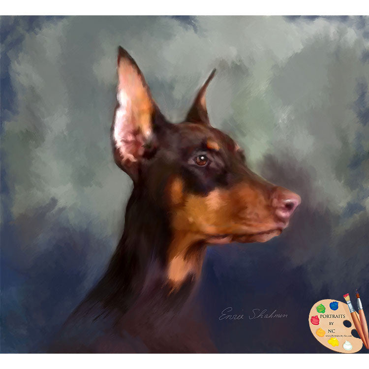 doberman-painting