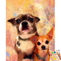 chihuahua and friend portrait