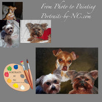 Group Dog Portrait from Photo 571