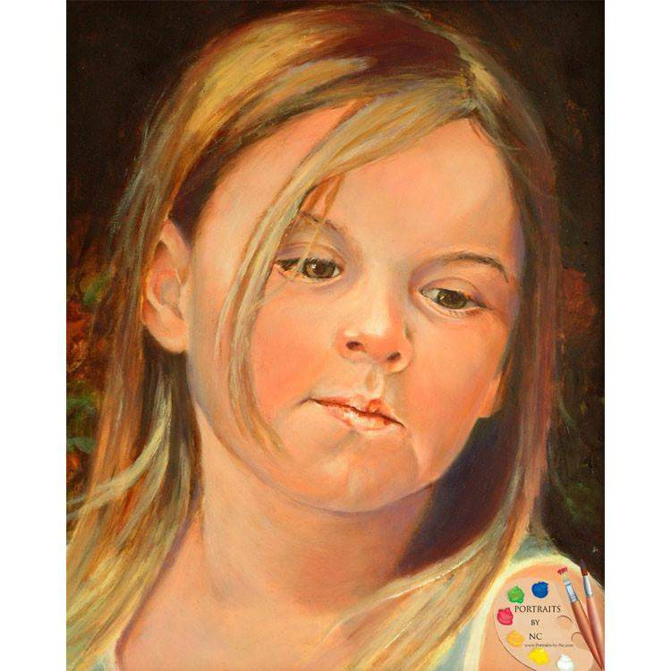 Girl Child Portrait