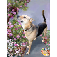 German Shepherd Pet Painting 343