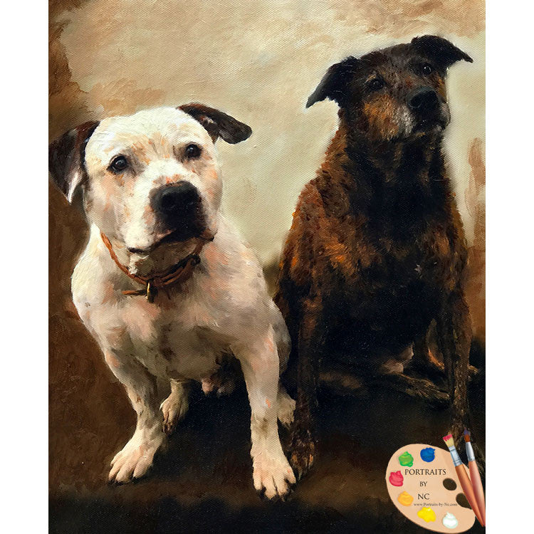Group Dog Painting 537