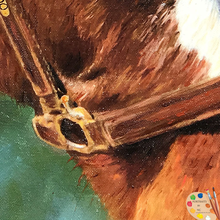 Horse Portraits - Oil  Portrait 591