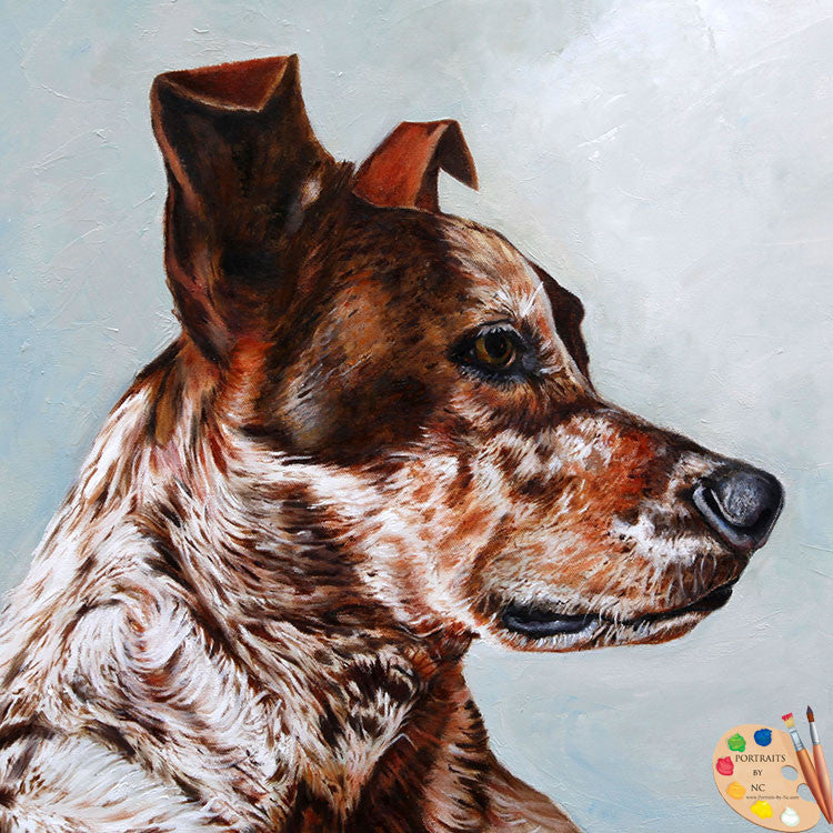 Herding Dog Painting 180