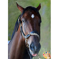 Horse Painting Wicked Strong 305