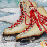 Painting of Skates 170 - Portraits by NC