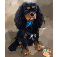 King Charles Spaniel Dog Painting 443