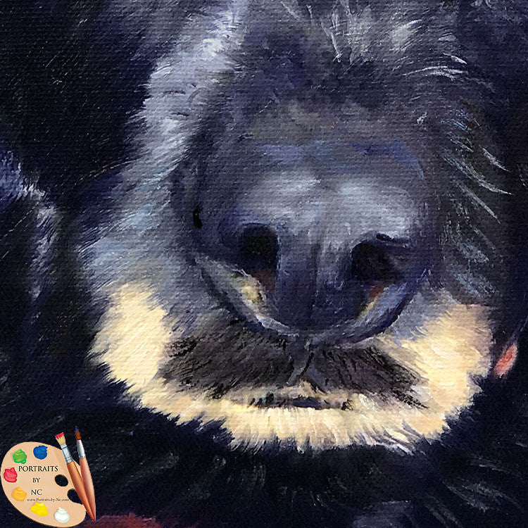 Labrador Nose Painting 587