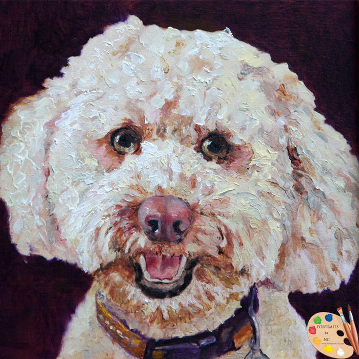 Labradoodle Painting 162