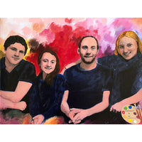 Modern Family Portrait 491 - Portraits by NC