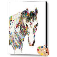 Modern Horse Painting 335 - Portraits by NC