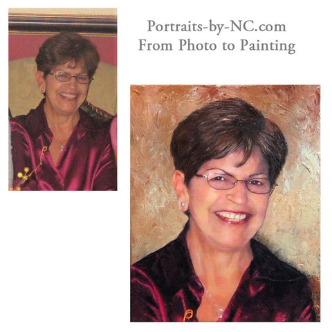From photo to painting