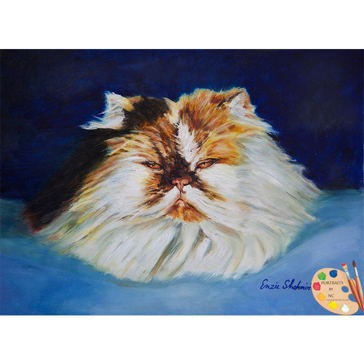 Persian Cat Painting 187