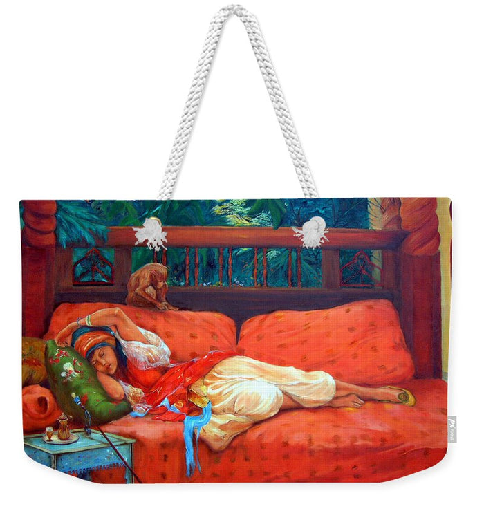 Petite Somme After A. Bridgman - Weekender Tote Bag 24