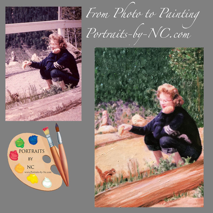 Vintage Photo to Painting 584