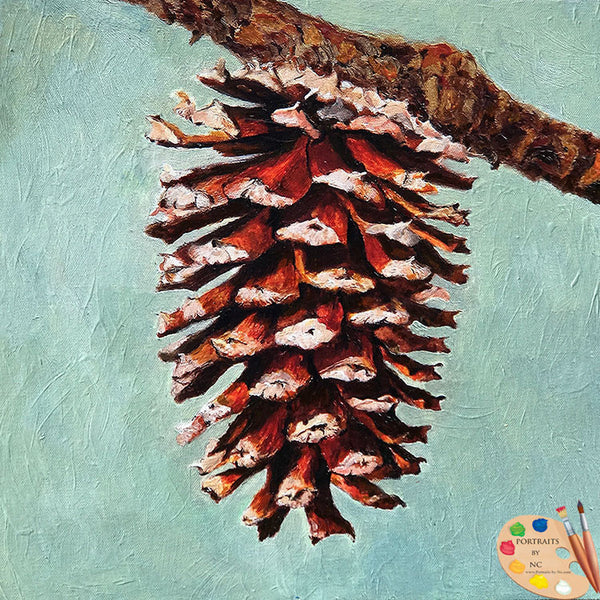 pine-cone-painting-543
