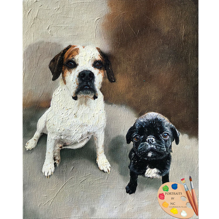 Group Dog Painting 539