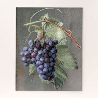 Purples Grapes Jigsaw Puzzle